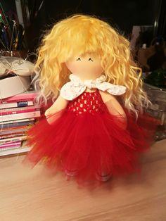 Handmade Dolls on Meska - Babamami Girls Dresses, Flower Girl Dresses, Handmade Dolls, Wedding Dresses, Diy, Dresses Of Girls, Bride Dresses, Bridal Gowns, Bricolage
