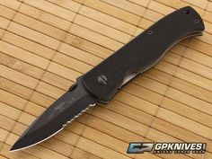 Emerson CQC-7A Prestige Spear Point Black Serrated