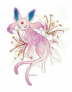 #Eevee #Espeon #Pokemon