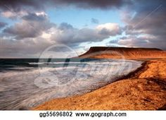 """Coastline at Sunset"" - Sunset Stock Photos from Go Graph"