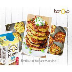 Levante la mano a quien le guste el huevo con tocino  #Bonovo #SaldelCascarón #Huevos #Cocina #Food #Comida #Delicioso