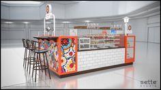 studio sette, sette studio, quiosque para shopping, quiosque, design quiosque, stand design, stand shopping, luana davidsohn, bolos, cupcakes, quiosque doces, quiosque cupcakes, quiosque bolos