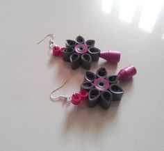 Quilled Earrings. Price-16$