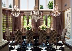 JeffAndrews-Design.com | | Jeff Andrews Design kris jenner dining room