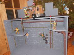 Ninja Turtles sewer DIY