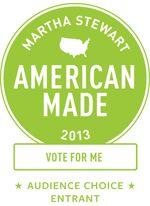 Martha Stewart - American Made 2013 - Nominee. Vote for Jammies! http://www.marthastewart.com/americanmade/nominee/81008?=EML_AM_2013_CONFIRMATION!