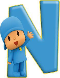 Dulce Alfabeto de Pocoyó. Minnie Png, Abc For Kids, Baby Mickey, Kids Board, 2nd Birthday, First Birthdays, Pikachu, Alphabet, Happy