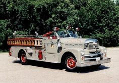 Hamilton, NJ Fire Company Engine 146 1954 Seagrave Pumper.