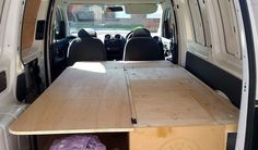 VW Caddy Mini Camper Project, Part 1 - Ride Home