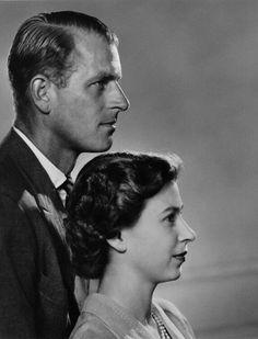 royalsandquotes:  Duke of Edinburgh and Queen Elizabeth