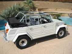 Baja Spec: Upgraded 1973 Volkswagen Thing 181