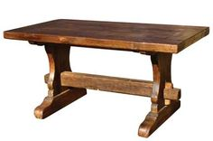 Trestle Table On