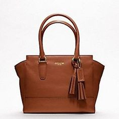 Coach Candace Carryall Legacy Collection - Cognac