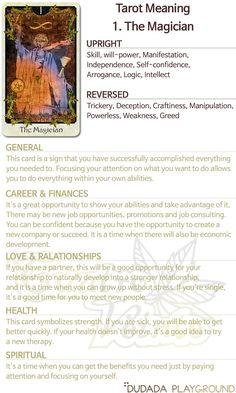 Tarot Meanings, Tarot Interpretation, The Magician Tarot, Tarot Cards For Beginners, The Magicians, Tarot Astrology, Tarot Major Arcana, Tarot Readers, Tarot Spreads