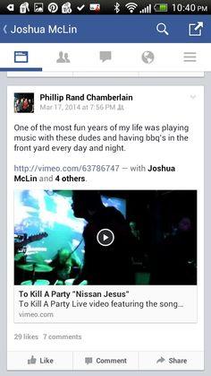 To Kill A Party. http://vimeo.com/63786747 http://vimeo.com/70294355