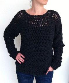 Magnifique pull au crochet