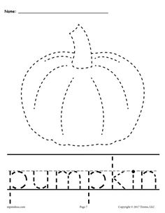 Pumpkin Worksheets for Preschoolers 10 Free Printable Fall Tracing & Handwriting Worksheets Handwriting Activities, Handwriting Worksheets, Tracing Worksheets, Kindergarten Worksheets, Kindergarten Crafts, Daycare Crafts, Fall Preschool, Preschool Curriculum, Preschool Learning