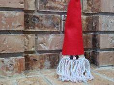 styrofoam cone gnome