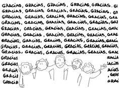 #MUSICA #VINILO - Ester Rodríguez, guitarrista, cantante y la más guapa del grupo, ha dibujado este agradecimiento para todos los mecenas. AMIGOS IMAGINARIOS. somos Santi Campos, Ester Rodríguez, Sebastián Giudice, Charlie Bautista y Jesús Montes, llevamos juntos desde el 2005, y hemos editado tres discos. Ahora queremos que el cuarto se merece una buena edición en vinilo, de esos que pesan mucho,y con un diseño chulo, chulo.   CAMPAÑA: www.verkami.com/projects/2975