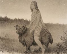 Norwegian Folktales: Neither Driving Nor Riding