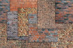 RED BRICK WALL BACKGROUND TEXTURE by Area on @creativemarket