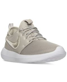 Nike Women's Roshe Two Breeze Casual Sneakers from Finish Line - Black 7