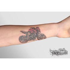 motorcycle tattoo