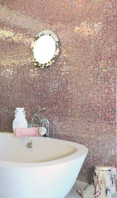 glittering bathroom