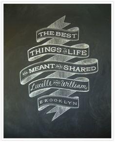 Be still my chalk-lovin' heart!