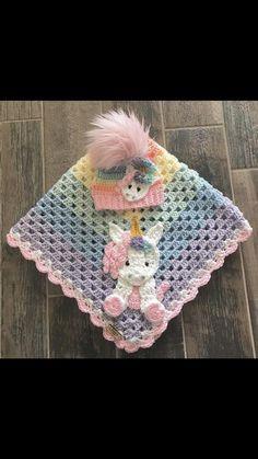 Crochet Baby Blanket – Baby Blanket – Handmade Baby Blanket – Unicorn Baby Blanket – Crocheted Baby Blanket – Baby Unicorn The Effective Pictures We. Mermaid Baby Blanket, Elephant Baby Blanket, Baby Blanket Size, Elephant Applique, Crochet Blanket Patterns, Baby Blanket Crochet, Crochet Baby, Handmade Baby Blankets, Crochet Mermaid