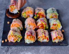 Vegan summer rolls   spring rolls   gluten free recipe - Elavegan