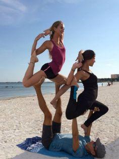 partner/couples yoga poses on pinterest  partner yoga