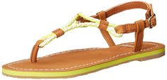 Polo Ralph Lauren Kids Alexis Neo Citr EVA/Braid Thong T-Strap Sandal (Little Kid/Big Kid) >>> Remarkable product available now. : Girls sandals
