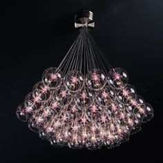 allmodern.com  ET2 Starburst Thirty-Seven Light Pendant in Satin Nickel $1500