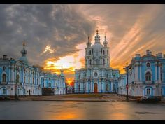 Санкт-Петербург, Смольный  собор. Путешествие по историческому храму гор...