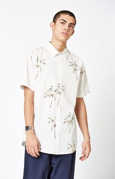 PacSun Shade Short Sleeve Button Up Shirt by PacSun 1ef340a5c