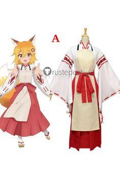 Sewayaki Kitsune no Senko-san Nakano Shiro Senko-san Cosplay Costumes Shiro, Cosplay Characters, Disney Characters, Fictional Characters, Cosplay Outfits, Cosplay Costumes, Sans Cosplay, Leaf Tv, Anime Kimono