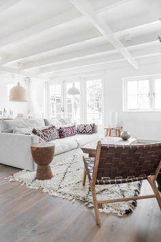 Scandinavian living room. Photography by Paulina Arcklin