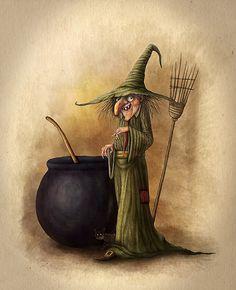 Witch by Alexander Skachkov