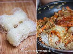Taitei chinezesti • Bucatar Maniac • Blog culinar cu retete Chinese Food, Shrimp, Blog, China, Chinese Cuisine, Blogging, China Food, Porcelain