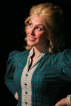 Rebekah Patti as Millie Pontipee at 6th Street Playhouse