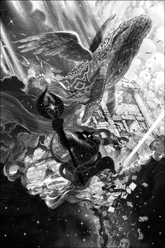 nicolas delort farewell koholint zelda inspired print for hero complex gallery 2 saves Art Scratchboard, Nicolas Delort, Dark Fantasy, Fantasy Art, Manga Kawaii, Wind Waker, Geek Art, Fan Art, Twilight Princess