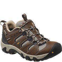 1012125 KEEN Women's Koven WP Wide Hiking Shoes - Cascade/Aluminum