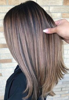 Best Balayage Ombre Hair Color Ideas for - Frisuren Brown Ombre Hair, Brown Balayage, Balayage Brunette, Ombre Hair Color, Hair Color Balayage, Brown Hair Colors, Balayage Ombre, Balayage Straight, Brunette Color