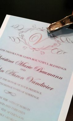 How To Make Your Own Wedding Invitations for under $50 - BridalTweet Wedding Forum & Vendor Directory