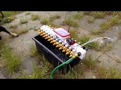Arduino controlled garden watering system - YouTube