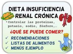 Dieta para insuficiente renal cronico