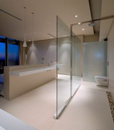 Luxury Bathroom With View