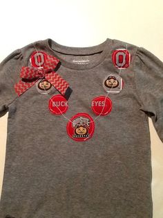 Ohio state necklace shirt