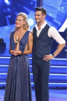 Peta & James get feedback from the judges - Dancing With the Stars - week 1 - season 18 - spring 2014